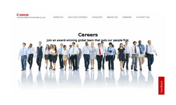 Canon Business Process Services - How can I apply?