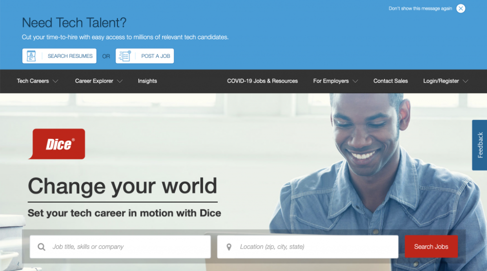 How to Use Dice Jobs to Find Jobs in Tech Online