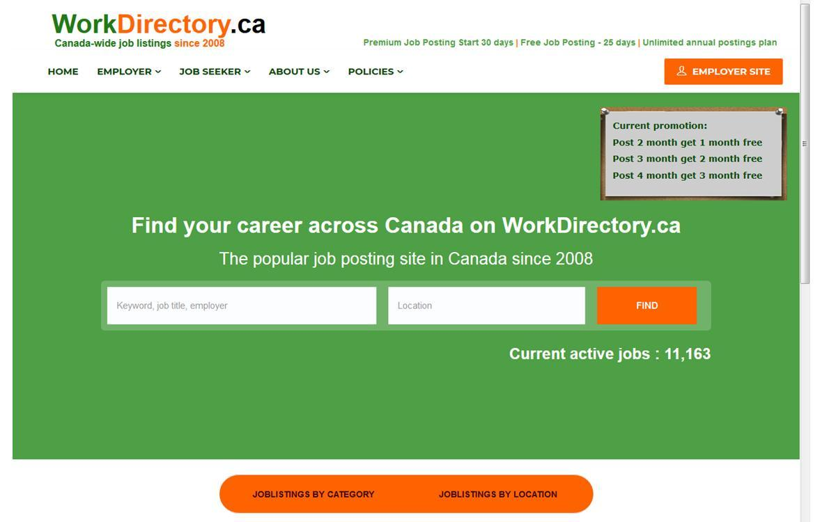 Work Directory - Find the Perfect Job