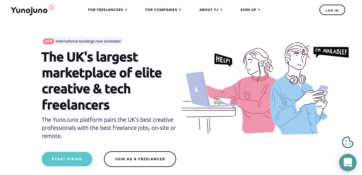 YunoJuno - Search For Jobs Online