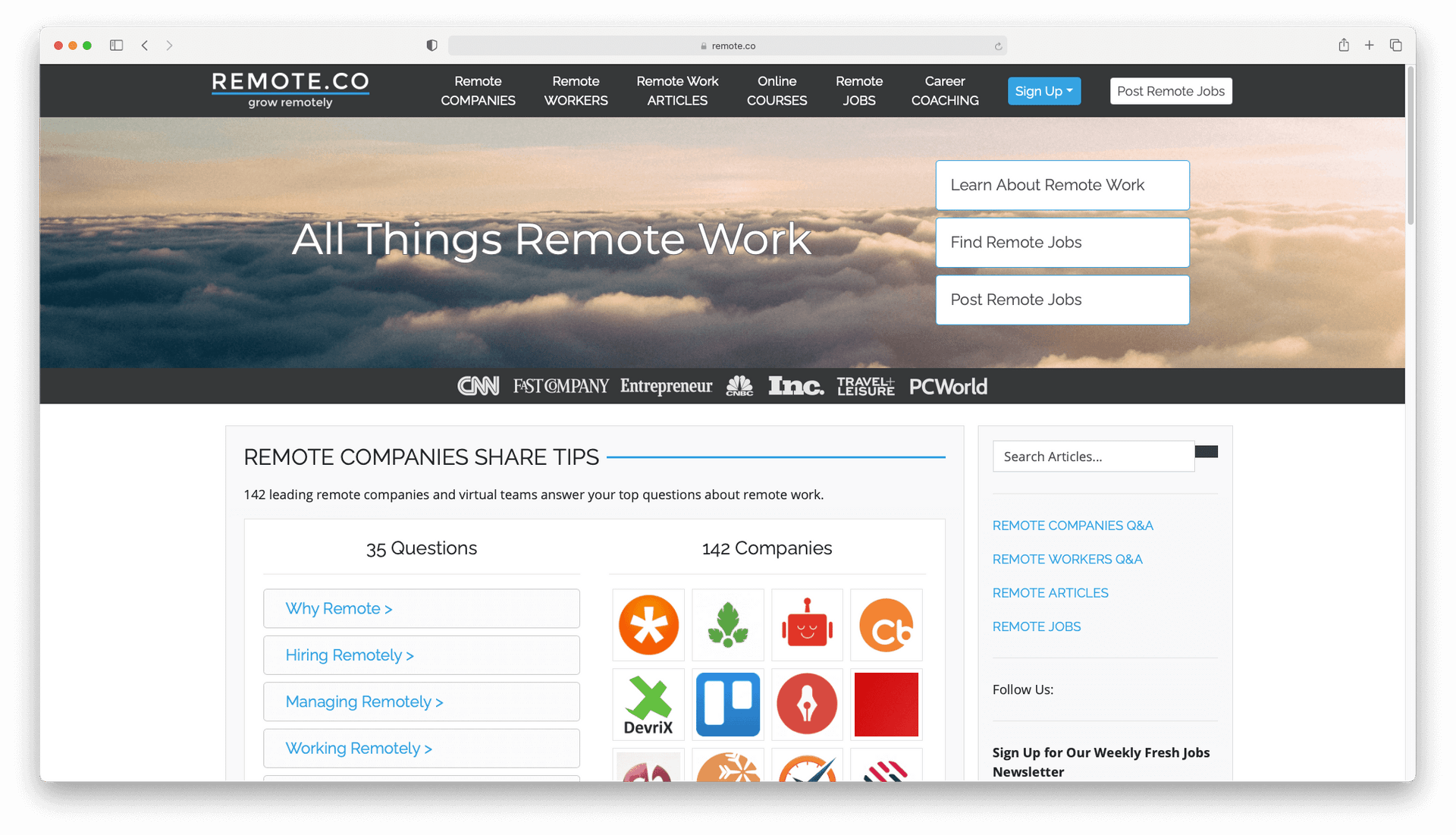 Remote.co - See How to Find Jobs