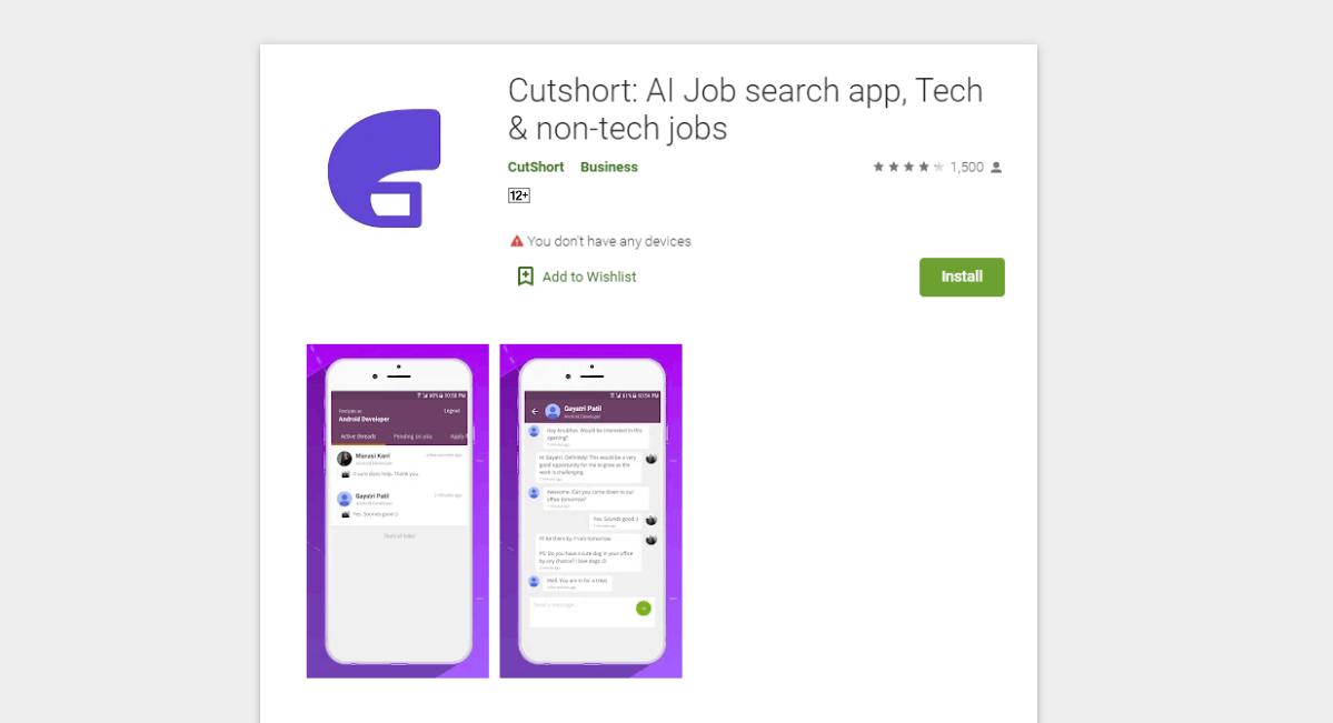 Cutshort - Find the Perfect Job