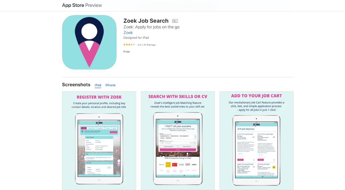 Zoek - Look for Jobs Online